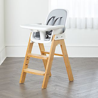 bar stool baby high chair lucite folding chairs best crate and barrel oxo tot sprout adjustable grey birch