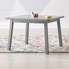 Where To Buy Toddler Table And Chairs Velvet Side Chair Kids Play Activity Tables Crate Barrel Traditional Grey