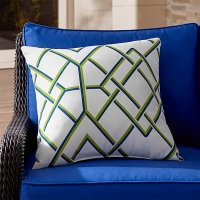 "Trellis 20"" Sq. Outdoor Pillow 