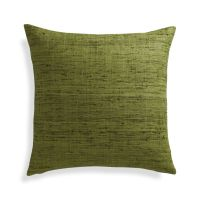 """Trevino Chive Green 20"""" Pillow Cover 