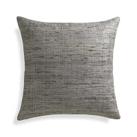 """Trevino Nickel Grey 20"""" Pillow Cover 