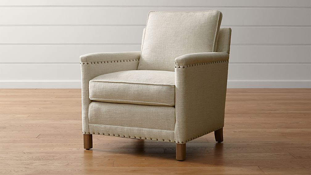 crate and barrel rocking chair vistage compensation trevor nailhead reviews