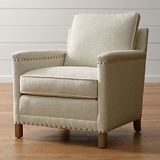 clara chair crate and barrel sling lounge outdoor chairs: swivel, rocking accent chairs |