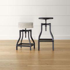 Stool Chair Adjustable Stokke High Tray Turner Black Backless Bar Stools And Linen Cushion Turnerbarstoolsblackshs15 16x9