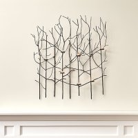 Twiggy Metal Wall Candle Holder