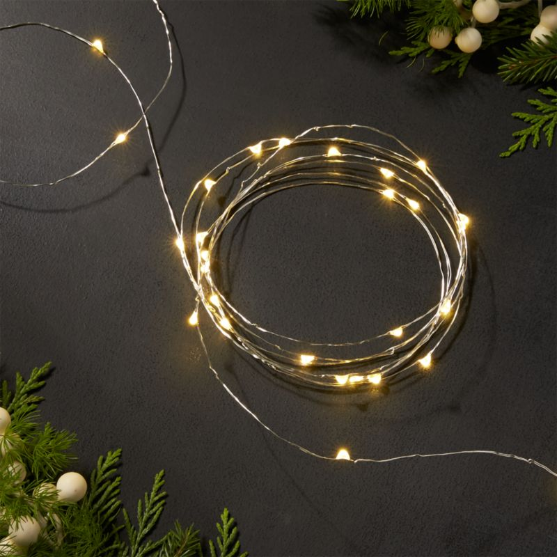 Timer Operated Battery Lights Led String