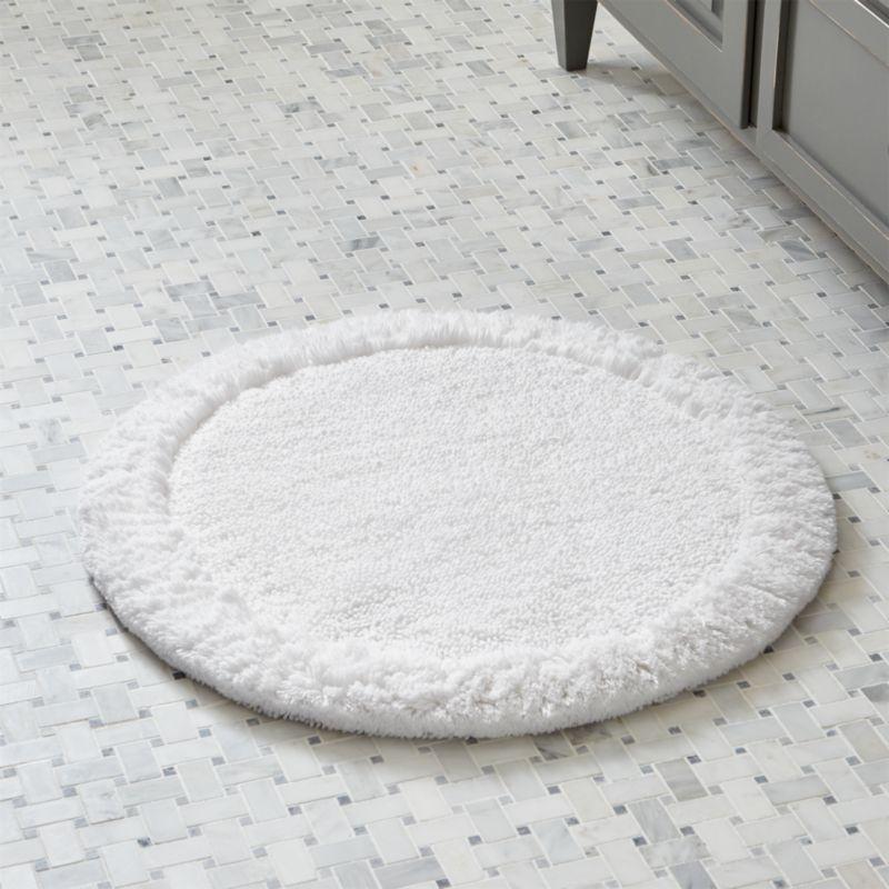 24 Inch Round Bath Rug  Uniquely Modern Rugs