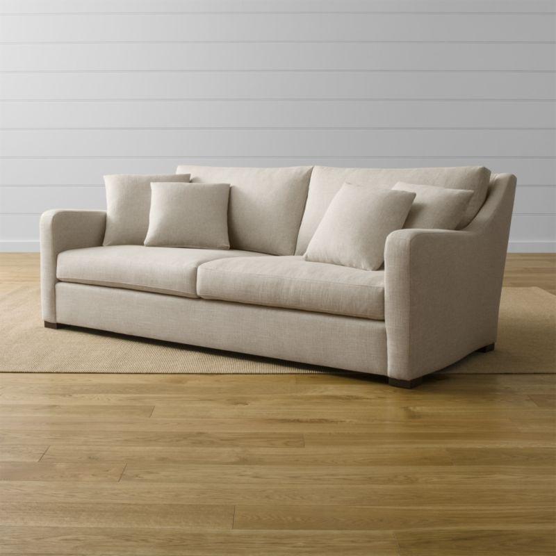 crate and barrel verano sofa cover fabric bangalore cream |