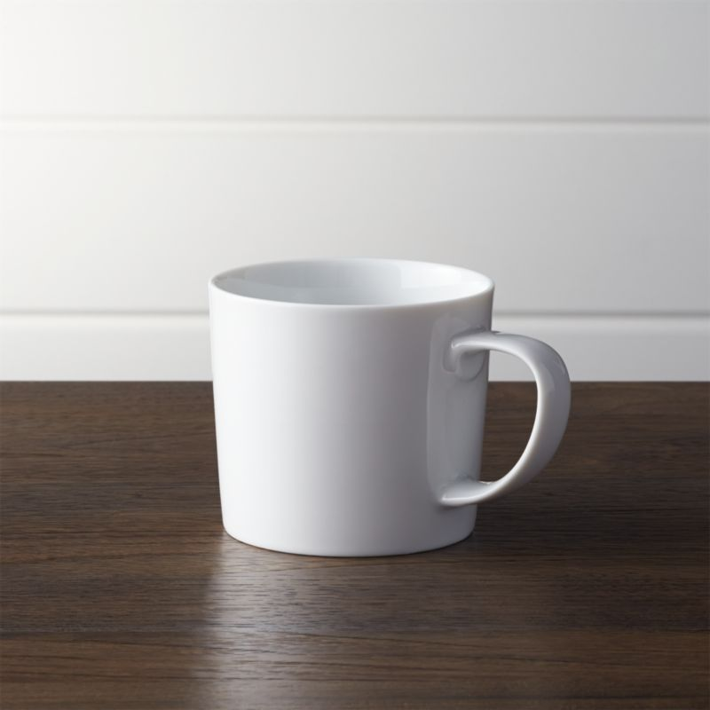 benches for kitchen table penny tile backsplash verge mug + reviews | crate and barrel
