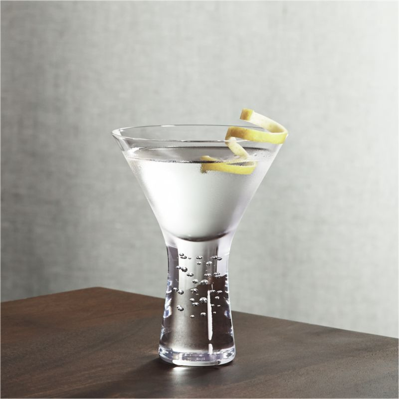 Verve Martini Glass  Reviews  Crate and Barrel