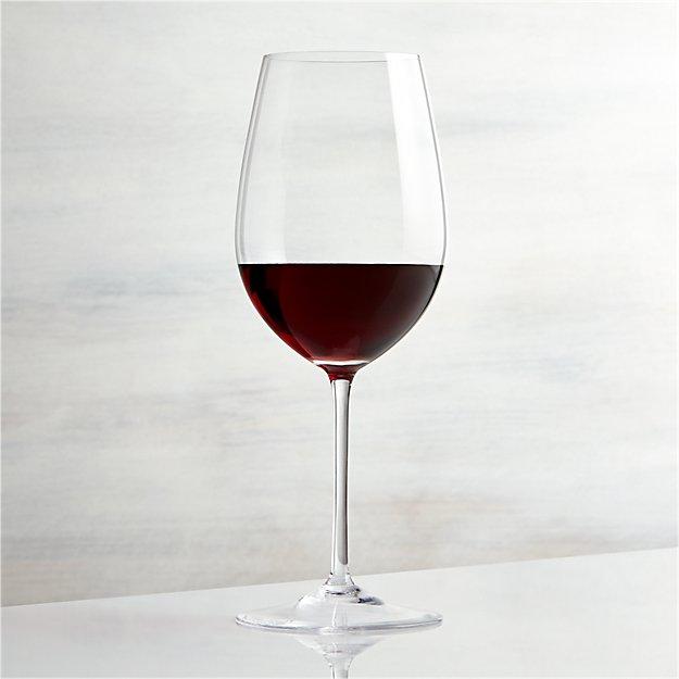Vineyard 22 oz Bordeaux Wine Glass  Crate and Barrel