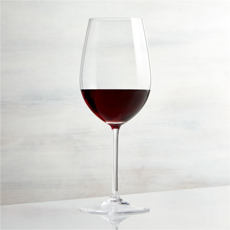 Vineyard 22 oz Bordeaux Wine Glass  Reviews  Crate and