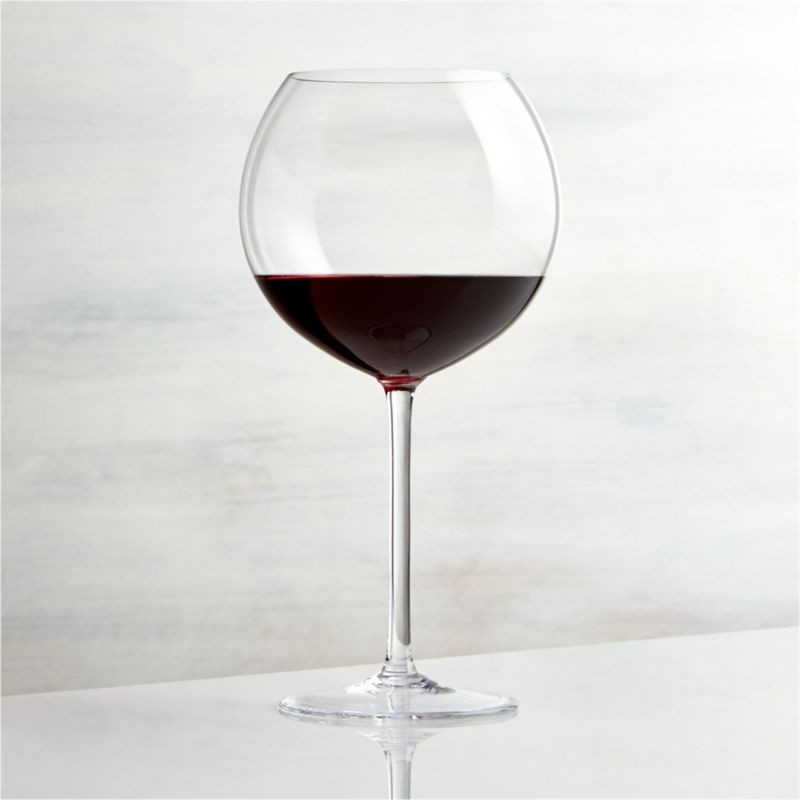 Vineyard 26 oz Burgundy Wine Glass  Reviews  Crate and
