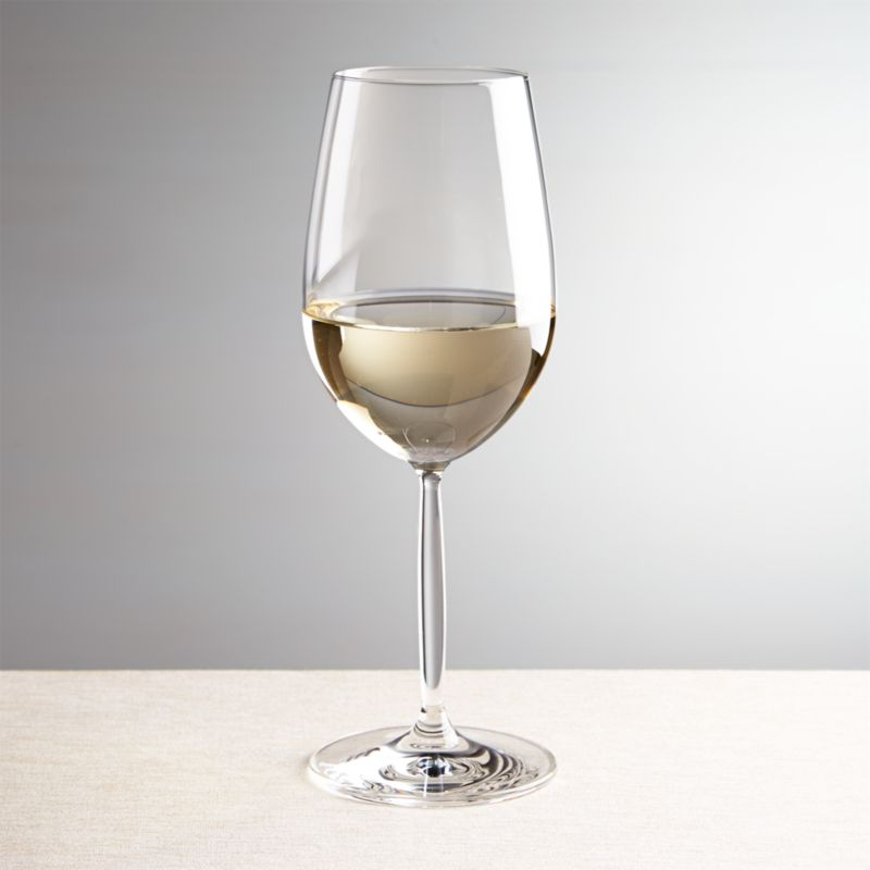 Vino White Wine Glass Reviews Crate And Barrel