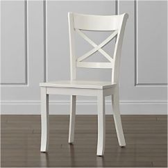 Painted Tables And Chairs Cheap White Kitchen Wood Crate Barrel Vintner Dining Chair