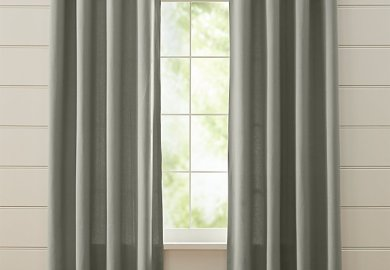 Grey Grommet Curtains