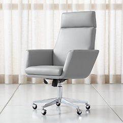 Swivel Office Chair With Wheels Decorative Desk Chairs Without Home Casters Leather More Crate And Barrel Warren