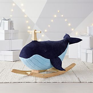 Rocking Horse  Crate and Barrel