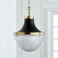 Windsor Brass Pendant | Crate and Barrel