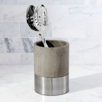 Wood and Stainless Steel Utensil Holder + Reviews | Crate ...