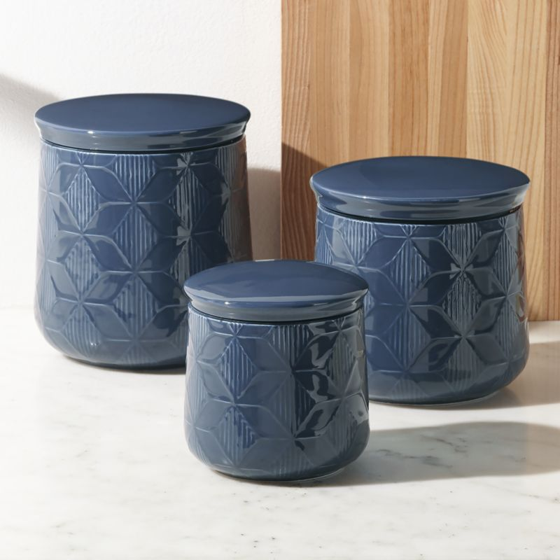 canisters kitchen remodel planner zane crate and barrel