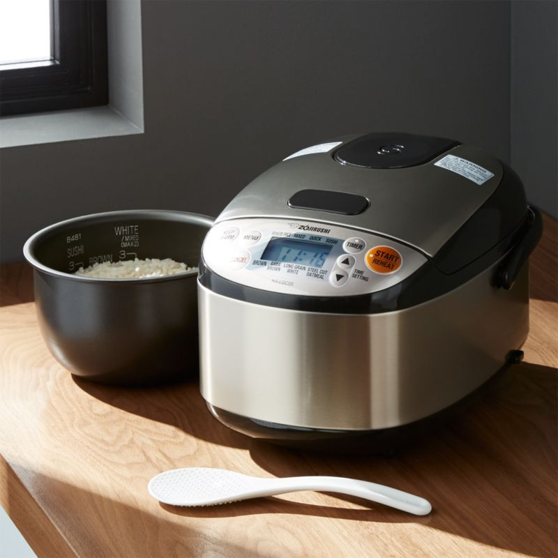 Zojirushi Rice Cooker 3Cup  Crate and Barrel