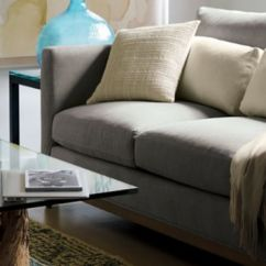 Contemporary Sofa Designs For Living Room Denim Blue Throw Inspiration Home Decorating Ideas Crate And Barrel Rooms We Love