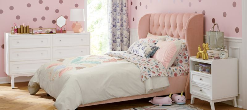 Girls Bedroom Inspiration  Crate and Barrel