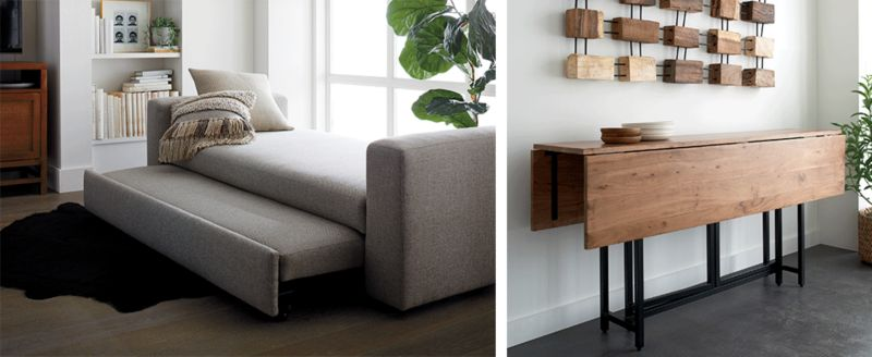 Small Space Furniture Ideas Crate And Barrel