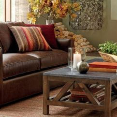 Leather Furniture For Small Living Room Curtain Decor Tips Buying Crate And Barrel