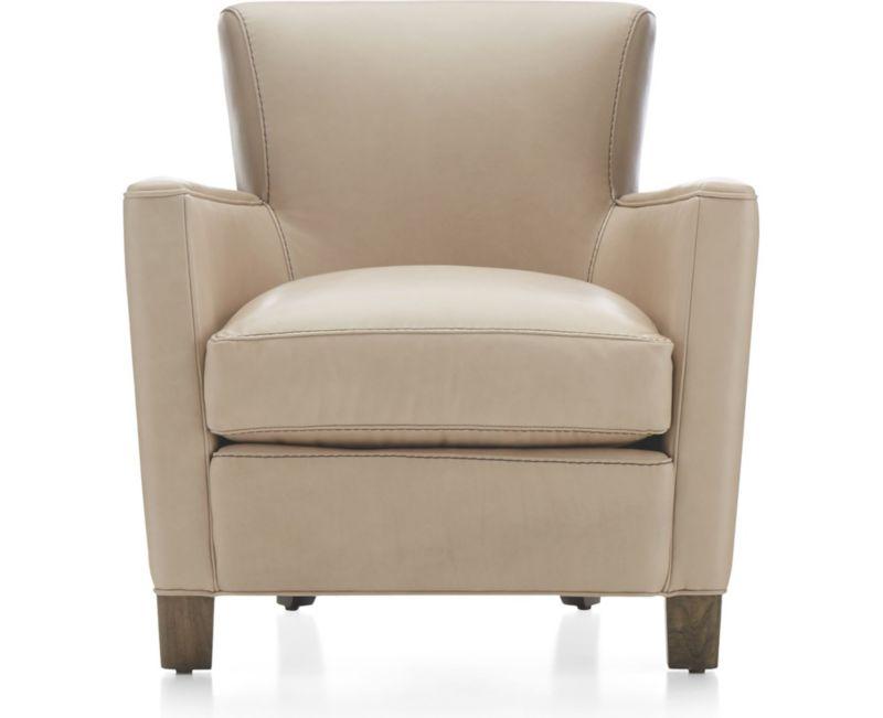 Briarwood Modern Leather Club Chair