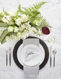 White Table Setting Ideas | Crate and Barrel Blog