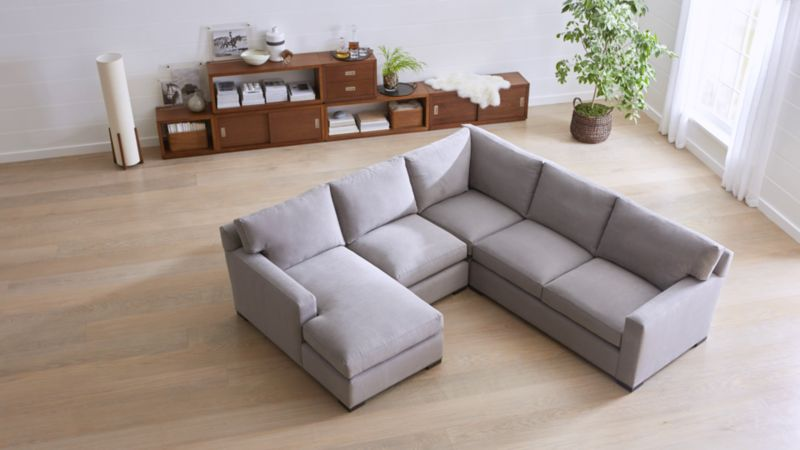 sectional sofa couch bed leon s sofas love how you live crate and barrel
