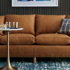 Stain Proof Sofa Fabric Sectional Sleeper New York City Types Crate And Barrel