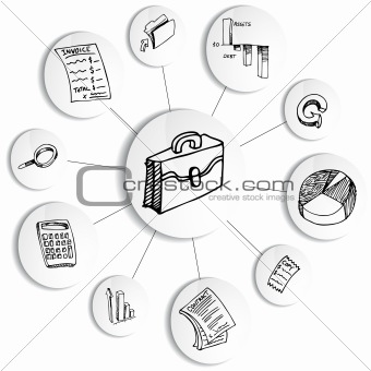Image 4101924: Business Financial Accounting Diagram Wheel
