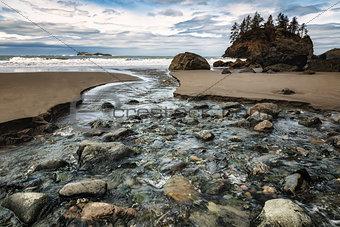 7218868 rocky beach landscape