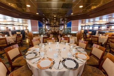 carnival sensation dining room fantasy cruise ship dec