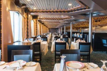 carnival fantasy dining cruise celebration room