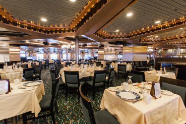 carnival fantasy cruise dining room celebration ship 2022