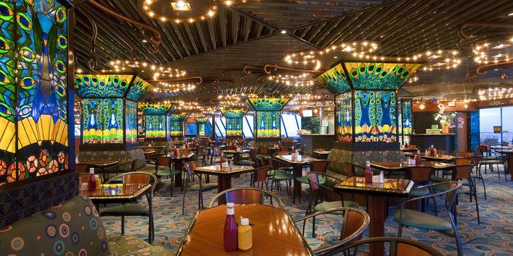 Carnival Elation Dining Restaurants Amp Food On Cruise Critic