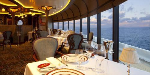 disney fantasy dining cruise restaurants food