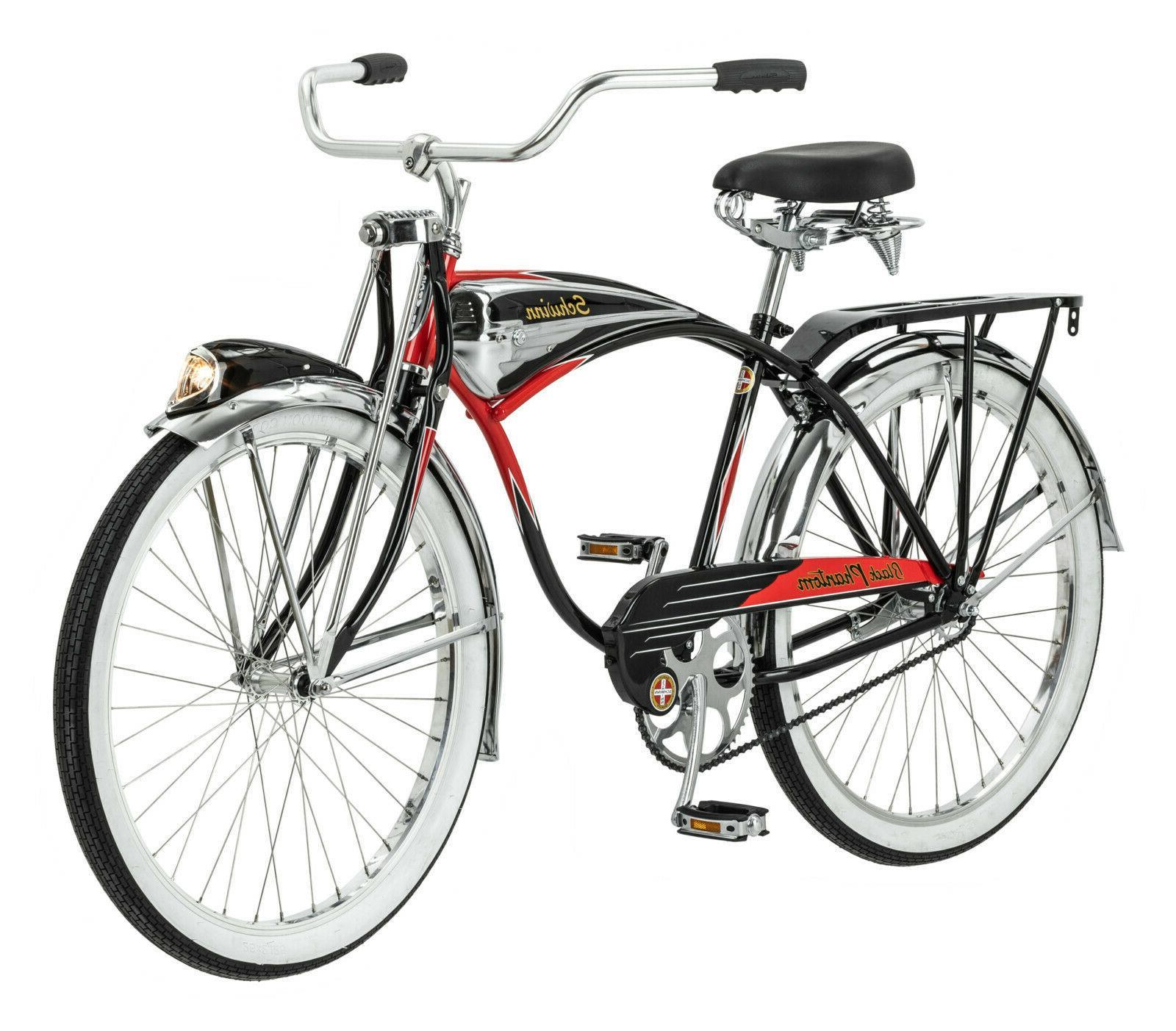 Schwinn Black Phantom Cruiser Bike, single speed, 26-inch