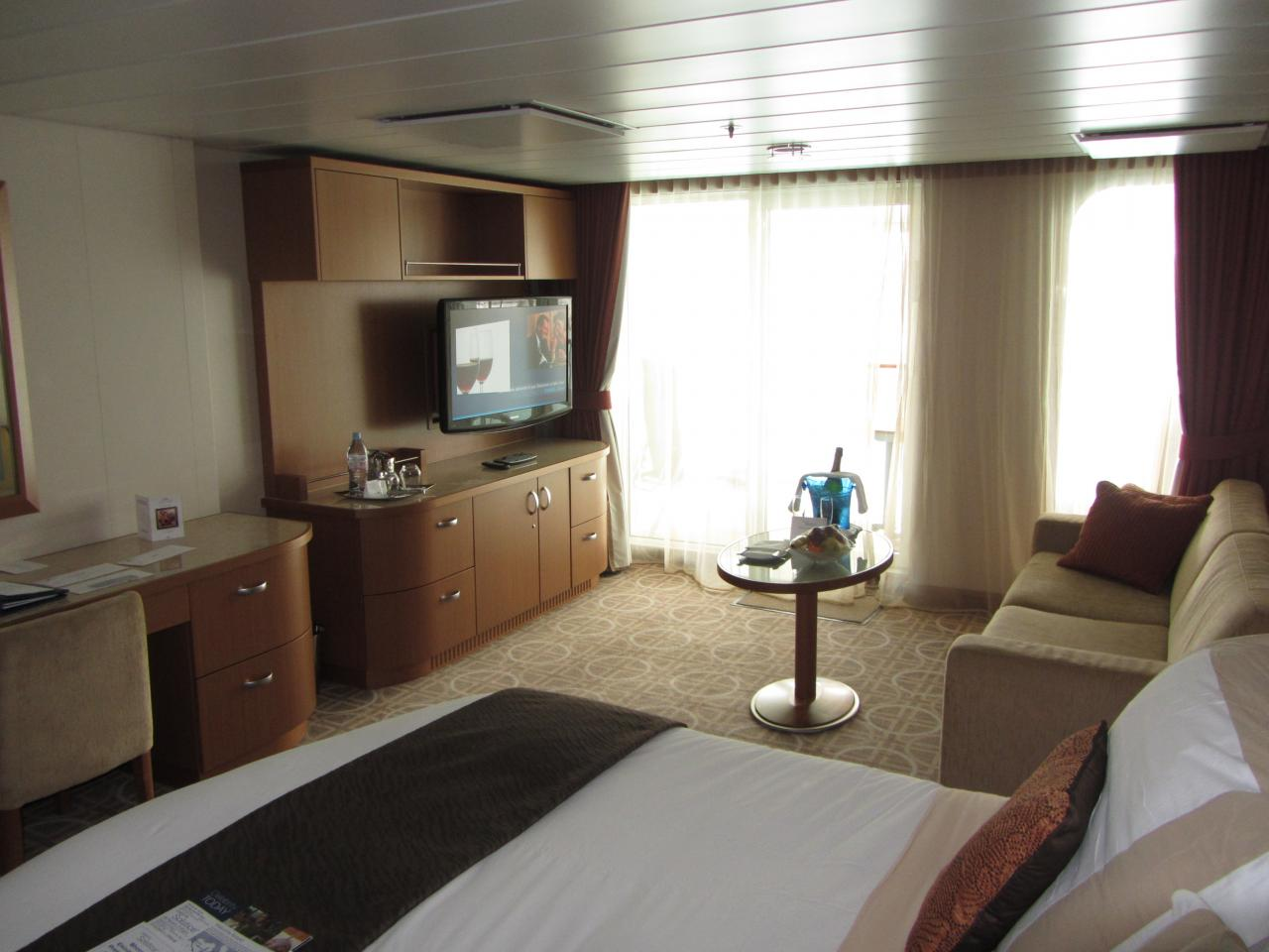 Celebrity Solstice Cruise Review for Cabin 2122