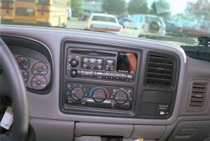 19992002 Chevy Silverado and GMC Sierra Regular Cab Car Audio Profile