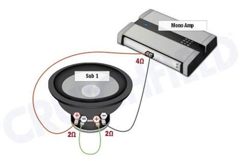 8 ohm speaker wiring diagrams venn diagram comparing prokaryotic and eukaryotic cells subwoofer