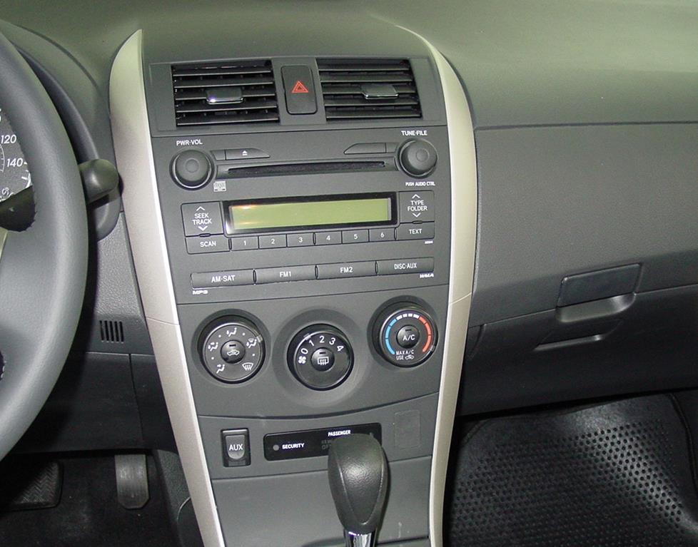 2010 Toyota Corolla Parts Diagram Wiring 2009 2013 Toyota Corolla Car Audio Profile