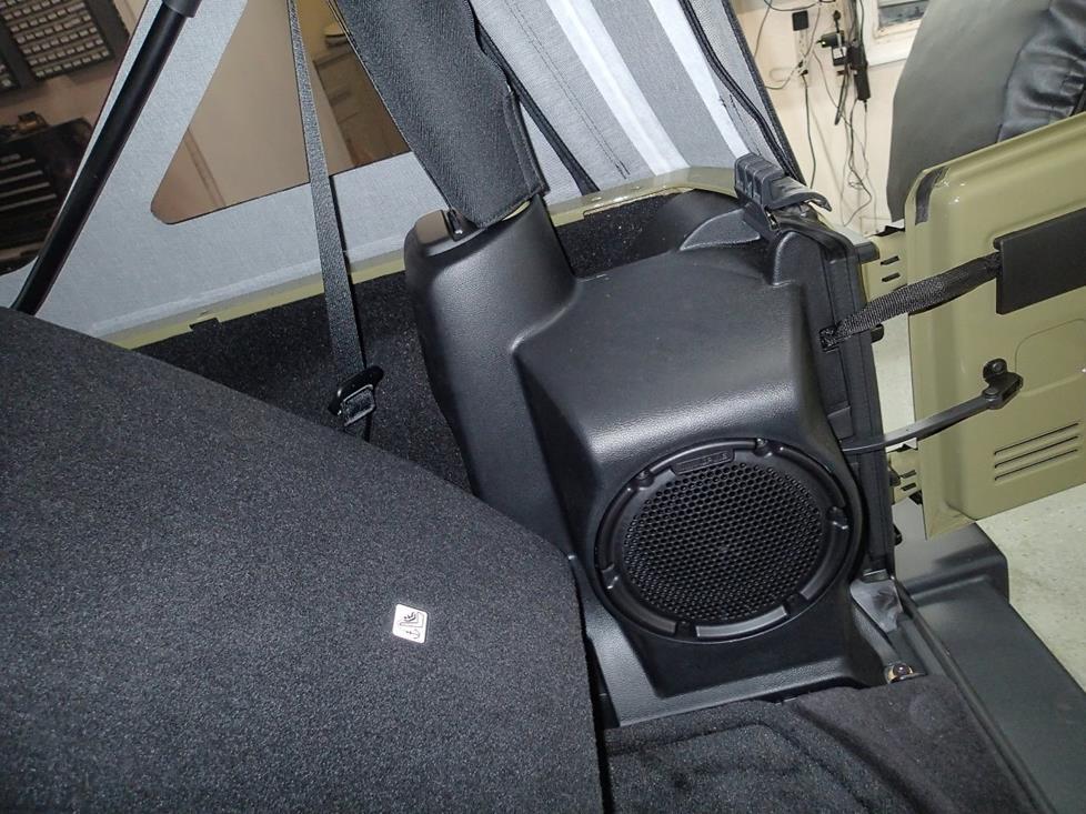 2007 Jeep Wrangler Subwoofer