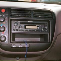 97 Honda Civic Wiring Diagram Pioneer Deh P4000ub 2 1999-2000 Car Audio Profile