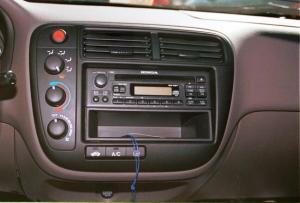 19992000 Honda Civic Car Audio Profile