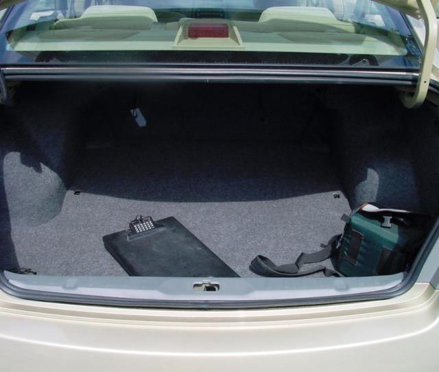 Nissan Altima Trunk